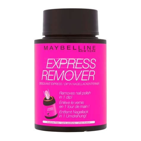 Maybelline Remover maybelline express remover nail remover acetone
