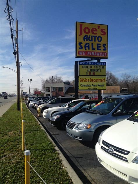 joes auto sales east  car dealers indianapolis