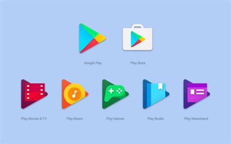 google play google play app icons are getting updated for a more