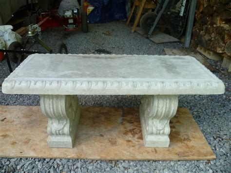 cement benches lowes curved concrete bench mold benches