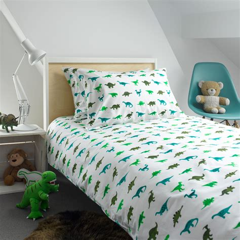 Dinosaur Quilt Cover by Dinosaurs Single Duvet Cover Bedding And Patterned