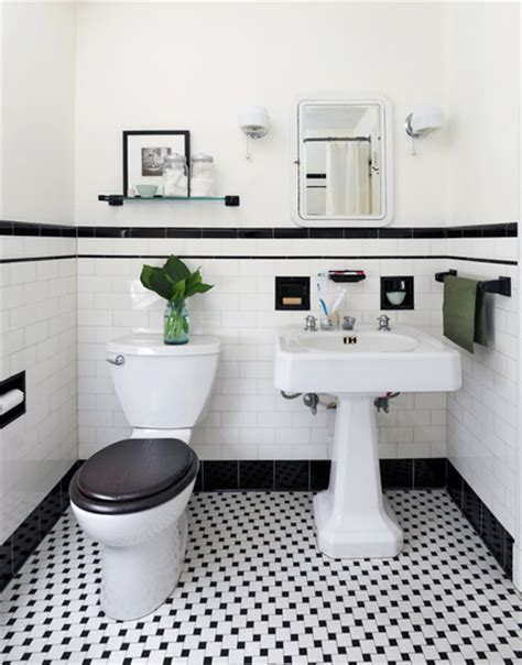 bathroom black and white black and white powder room vintage bathroom ore studios