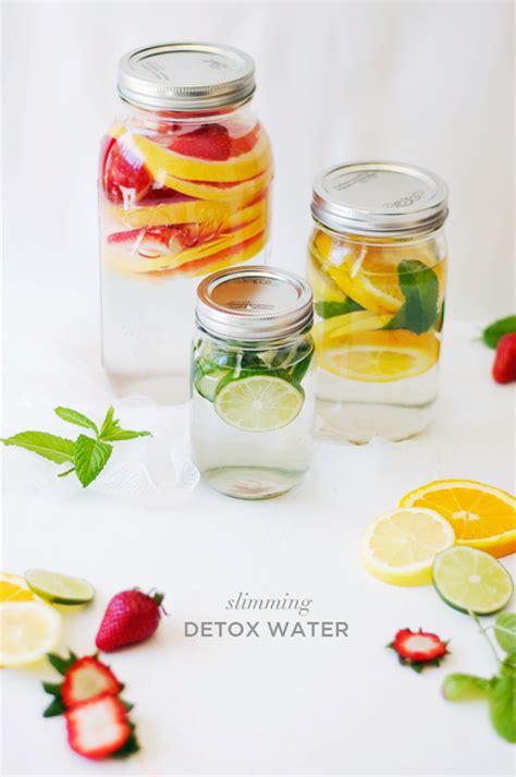 Slim Detox Water by 3 Slimming Detox Water Recipes Paperblog