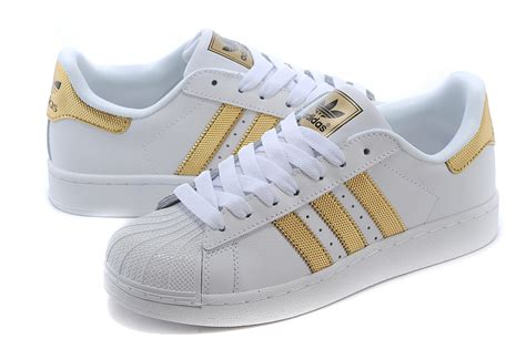 s s adidas originals superstar ii bling casual shoes white metallic gold black v24626