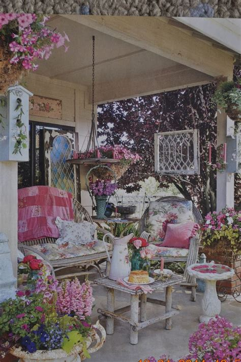 best 25 shabby chic patio ideas on pinterest shabby