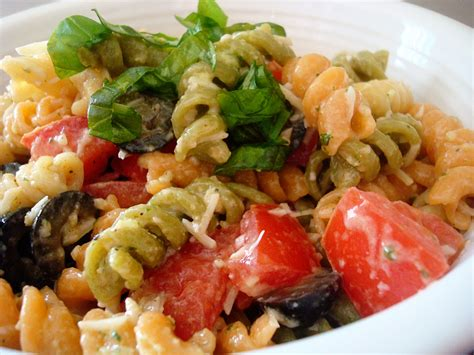 tasty pasta salad tri color pasta salad tasty kitchen a happy recipe