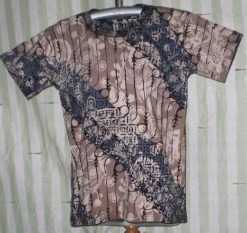 Kaos Batik Cap By Batik Nitnot kaos batik grosir batik murah