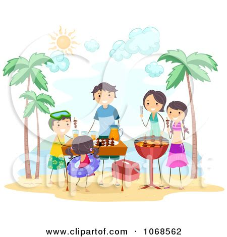 Family Barbeque 1 Ukrainian Naturist Families Actor | family picnic bbq clipart clipart suggest