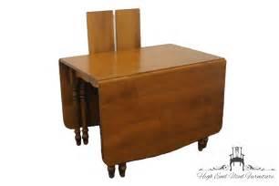 American Of Martinsville Dining Room Furniture by Sprague Amp Carleton Rock Maple Drop Leaf Dining Table Ebay