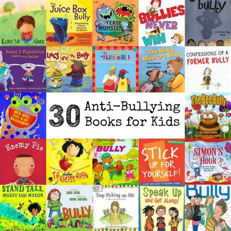 bullying picture books 30 anti bullying books for
