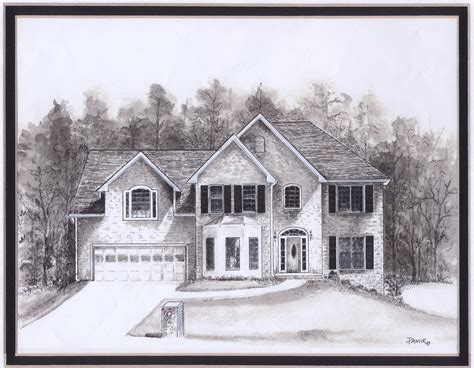 drawing home house drawings house style pictures