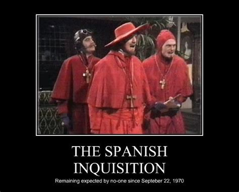 Spanish Inquisition Meme - the crusades and the spanish inquisition springfield xd