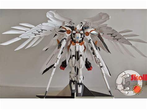 Gundam Wing Zero Papercraft - gundam gundam papercraft gundam wing zero custom