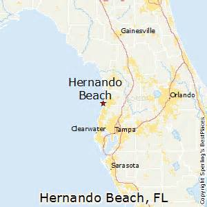 Hernando Florida Map by Best Places To Live In Hernando Beach Florida