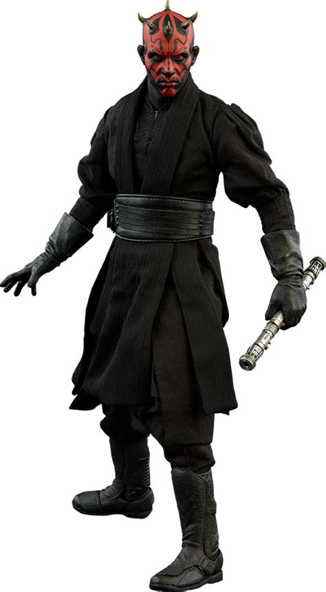 Home Shop Plans star wars darth maul duel on naboo sixth scale figure by