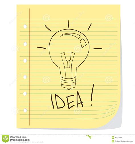 doodle god how to create light bulb idea stock vector image 47832984