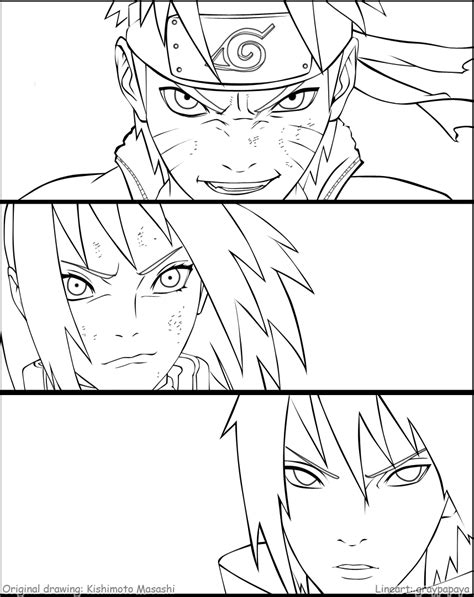 Team 7 Coloring Pages team 7 reunion lineart by graypapaya on deviantart