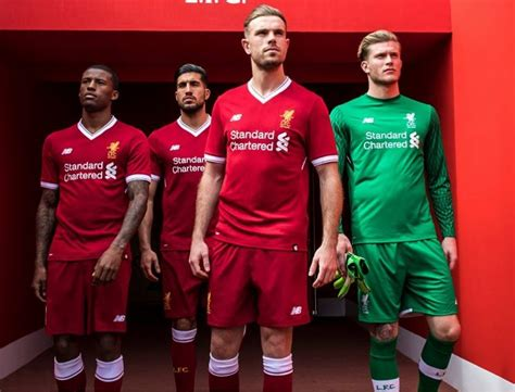 new year parade liverpool 2018 liverpool fc 125th anniversary 2017 18 new balance home