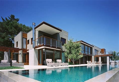 modern houses architecture unexpected design twists monte serino residence in san