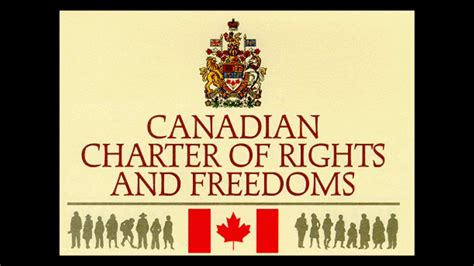 Canadian Charter Of Rights And Freedoms Section 8 Youtube