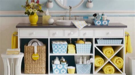 Now Designs Kitchen Towels by Easy Storage Ideas For Your Bathroom Youtube