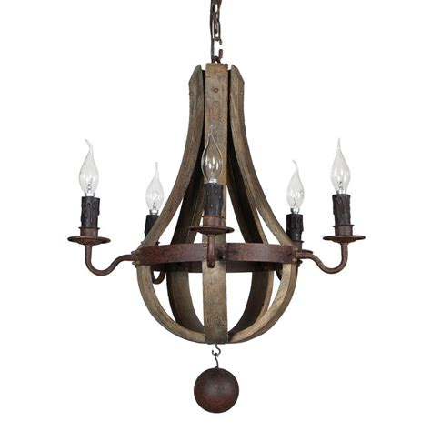 Wooden Wine Barrel Chandelier Iron And Wood Wine Barrel Chandelier Terracotta Lighting Chan8020 5 Dining Room Decor