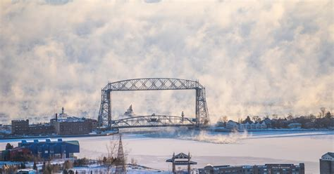 duluth sea smoke duluth harbor cam up in quot sea quot smoke
