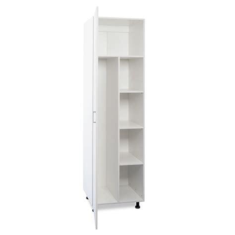Kitchen Cabinet Doors Nz Flatpax 600mm White 1 Door Utility Broom Cupboard Kitset Bunnings Warehouse