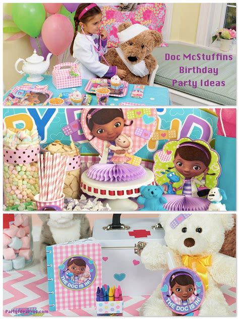 doc mcstuffins birthday planning ideas supplies
