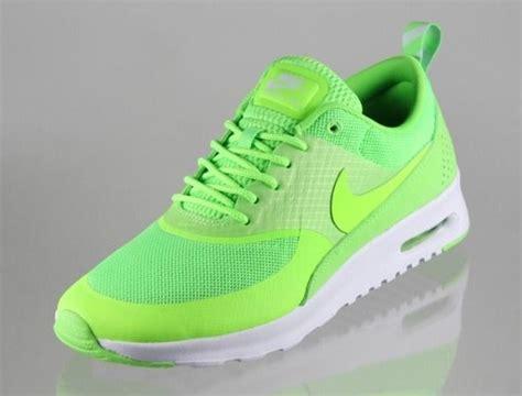 lime green nike air max thea
