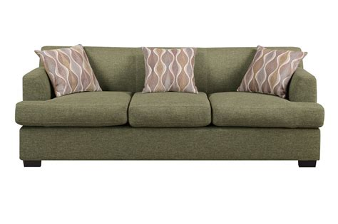 fabric loveseats poundex montreal iv f7978 green fabric sofa steal a sofa