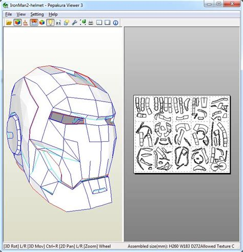 Papercraft Program - how to use pepakura viewer what is pepakura