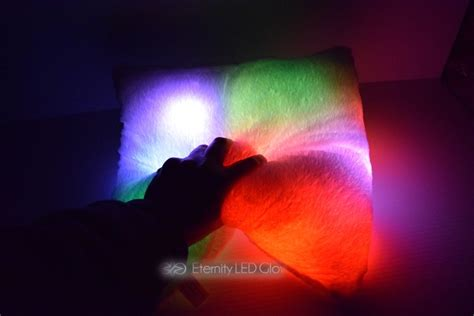 light up couch led light up couch pillow eternity led