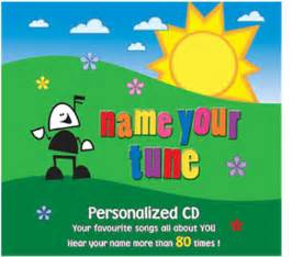 name your tune personalized children s cds personalized cds