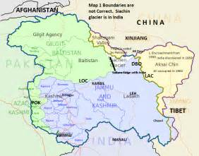 Kashmir India Map by Sookta Sumana Obfuscation Of Jammu Kashmir Issue By New