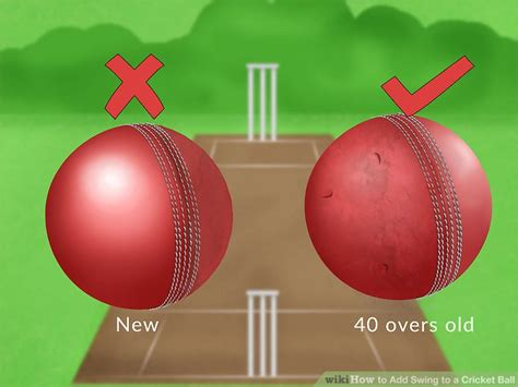 how to bowl reverse swing 3 ways to add swing to a cricket ball wikihow