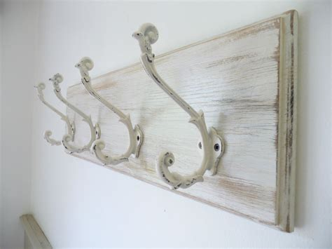 vintage shabby chic l vintage style shabby chic romantic wooden oak coat rack