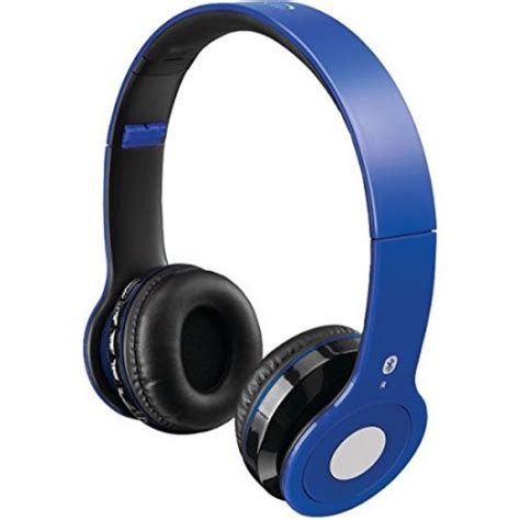 Headset Bluetooth Gblue ilive wireless bluetooth headphones iahb16bu stereo blue mini phone wired wireless