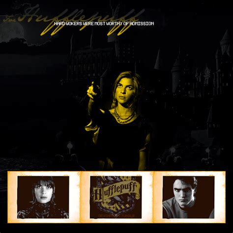 What House Would I Be In In Harry Potter by Hufflepuff House