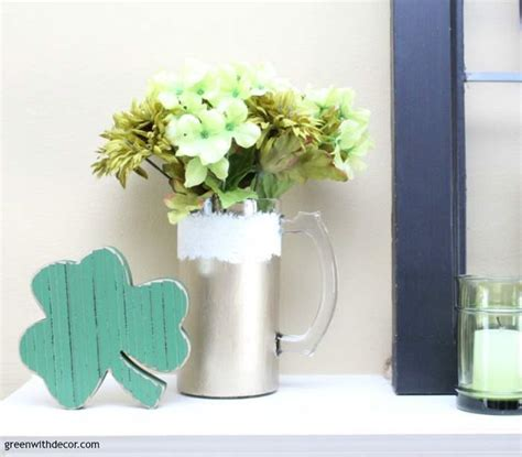 shamrock decorations home green with decor st patrick s day decorating foyer