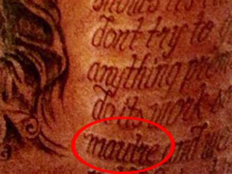 kevin durant tattoos there s a misspelled word in kevin durant s back