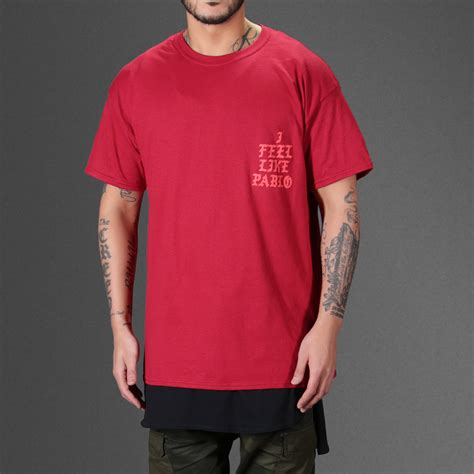 i feel like pablo t shirt wehustle menswear