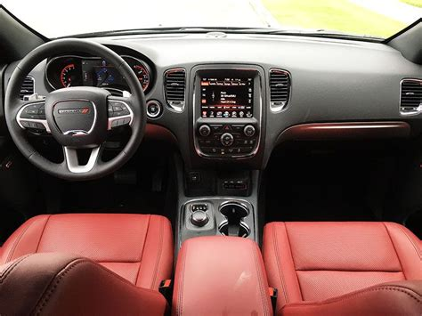 dodge durango interior 2016 2016 dodge durango rt road test and review autobytel com