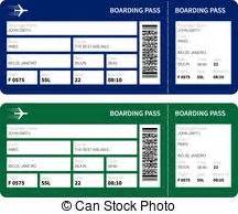 boarding pass illustrations and clipart 3 808 boarding
