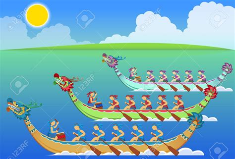 clipart of boat race dragon boat race clipart clip art library