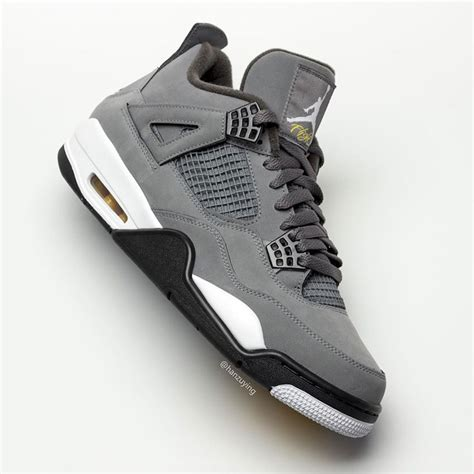 Air 4 Cool Grey Where To Buy by Air 4 Cool Grey 308497 007 2019 Release Date Sneakernews