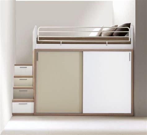 doimo letti singoli letto singolo a soppalco moderno con scrivania
