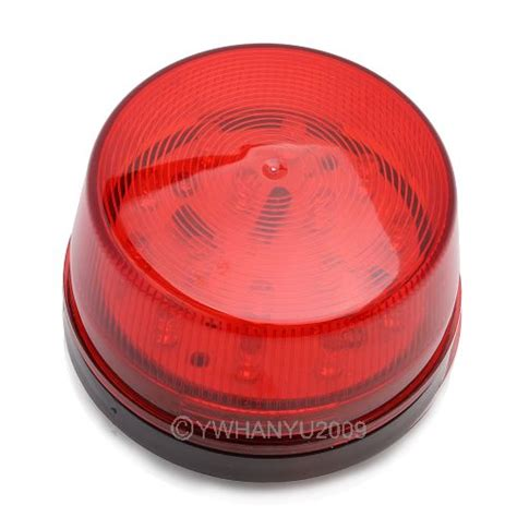 12 volt security light led 12 volt security alarm strobe signal warning siren