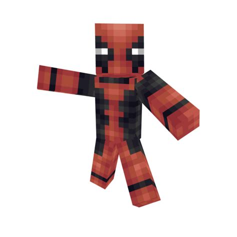 Minecraft Papercraft Deadpool - paper craft new 635 papercraft minecraft deadpool