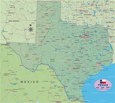 road atlas map of texas map of texas united states usa map in the atlas of the world world atlas